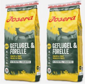 Josera volaille truite sans céréales 15kg