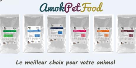 Amok Pet Food Le meilleur pour votre animal