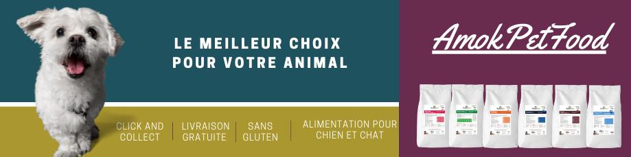 Amok Pet Food Le meilleur pour votre animal 2
